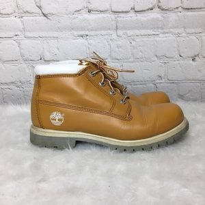 Timberland Wheat Leather Ankle Boots WMS 7